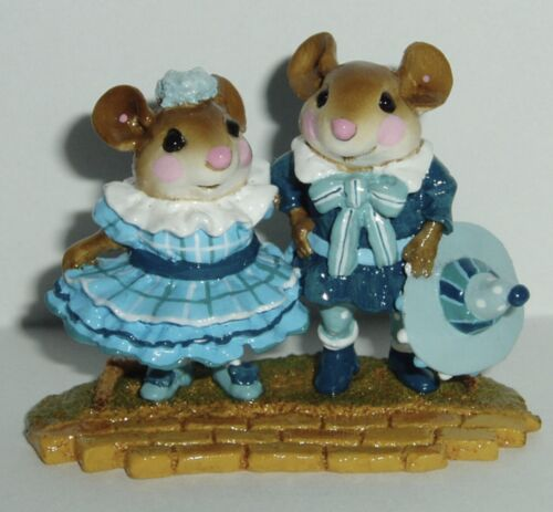 Wee Forest Folk Special Plaid Munchkins from The Wizard of Oz