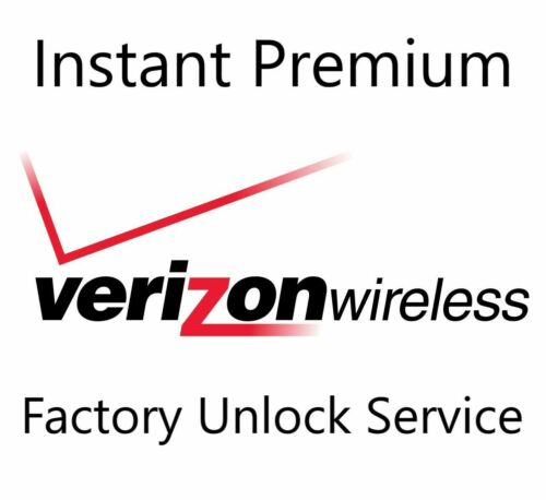 USA Verizon Premium Instant Factory Unlock Service For All iPhone iPad Models