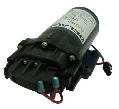 Delavan Powerflo 7802-201-sb Diaphragm Pump 12v 60 Psi 2.0 Gpm Demand Qa Ports