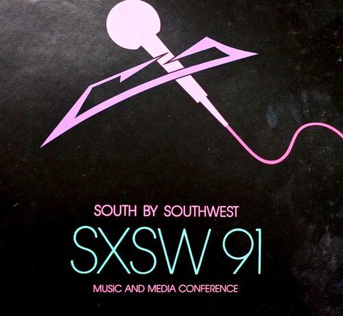 1991 SXSW MUSIC & MEDIA  CONFERENCE BY JAGMO -  SCARCE Original RARE