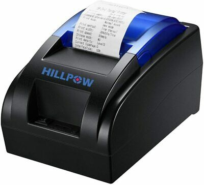 Hillpow Thermal Receipt Printer 58mm Esc Pos 90mmsec Usb Interface