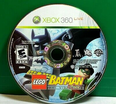 LEGO Batman: The Videogame (Microsoft Xbox 360, 2008) Disc Only # 35372