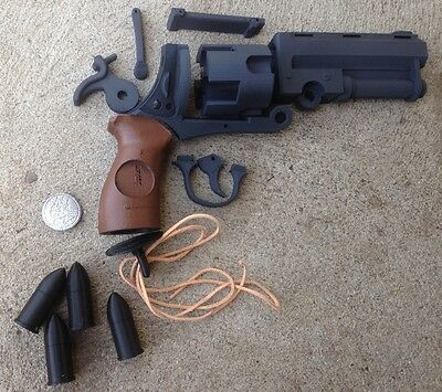 Hellboy Hell Boy Good Samaritan Revolver Gun Blaster Pistol Movie Prop Kit Model
