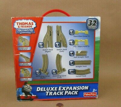 Fisher-Price Thomas & Friends Trackmaster Deluxe 32 Piece Expansion Track Pack