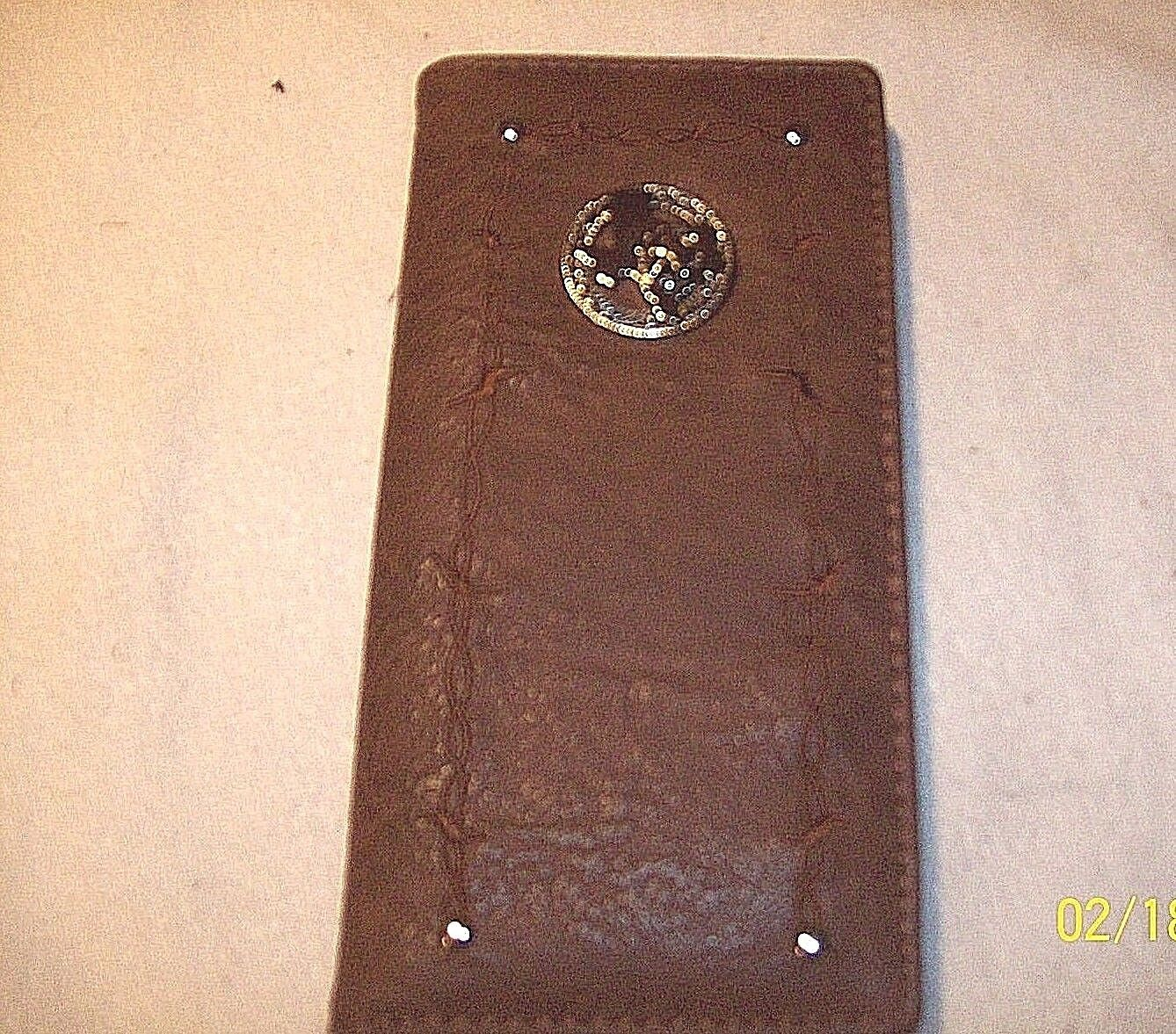 Ladies checkbook holder wallet STATE OF TEXAS with STAR embl