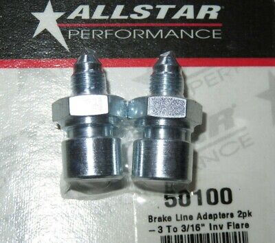 AllStar Steel Brake Line Adapter -3 AN To 3/16