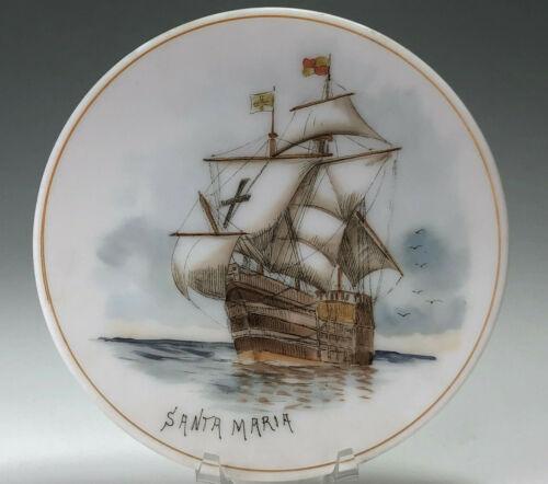 Mt Washington/Smith Brothers Columbian Expo 1893 Santa Maria Decorative Plate