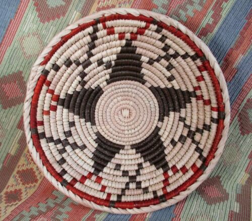 Southwestern Style Basket    Medium Size Star Basket     over 8 inches
