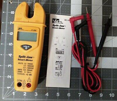 Ideal Split Jaw Automatic Smart Meter Multimeter 61-096