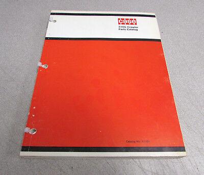 Case 310g Crawler Parts Catalog Manual A1101 1971