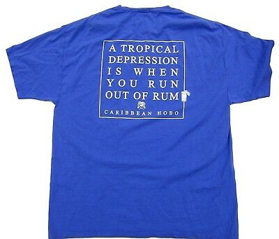 Caribbean Hobo Tropical Depression Rum t-shirt Key west island mexico - Tropical Rum Drinks