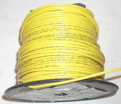 14 Awg Yellow Thhn Copper Electrical Wire Stranded Cable 7 Lb 8.4 Oz