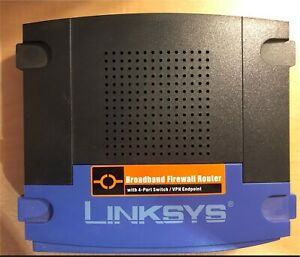 Cisco-Linksys router 4 ports