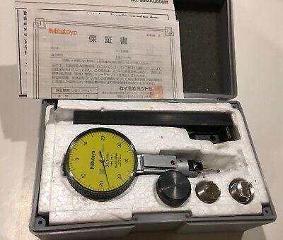Mitutoyo 513-304gt Universal Dial Test Indicator Set 0.8mm Range 0.01mm