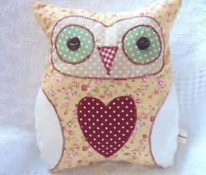 Owl Cushion Kit Complete Sewing Craft Kit Great for Older Children & Adults Easy