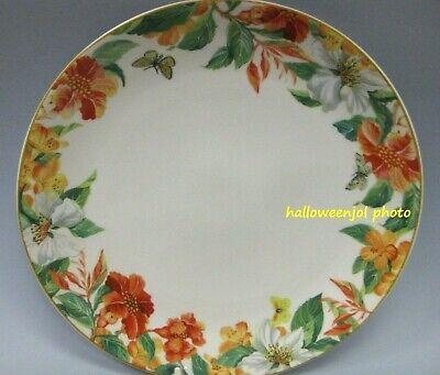 SPODE WHITE MAUI Hawaiian DINNER Buffet PLATE 10.5