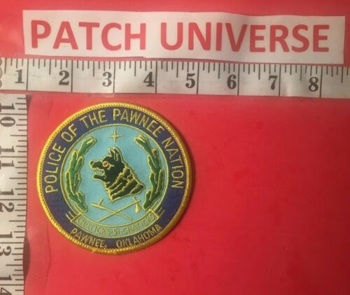 POLICE OF THE PAWNEE NATION  SHOULDER PATCH    Q126