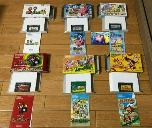 Lot 6 Nintendo Game Boy Advance Game Cased/tested