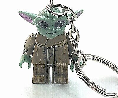 Baby Yoda Figure Keyring Star Wars Figure Keyring Mini Bag Charm Yoda Keychain