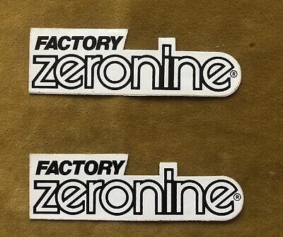 "Zeronine 3/"" Black Number # 2 BMX NOS"