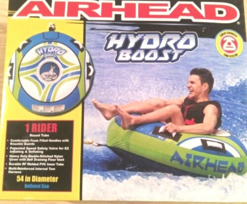 "Towable Tube 54"" Airhead Hydro-Boost wake board ski tube water sports inflatable"