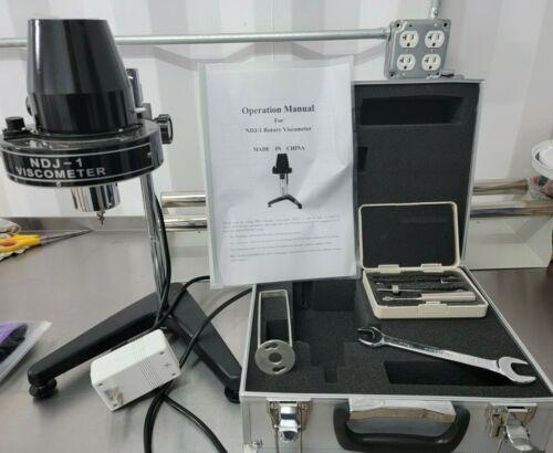 Rotational Rotary Viscometer Viscosity Tester Meter Fluidimeter NDJ-1 OPEN BOX