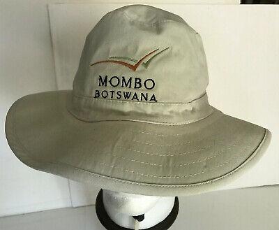 Mombo Botswana Safari Hat American Nature Co.  for sale  Shipping to India