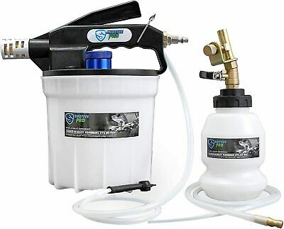 SMOTIVEPRO 2L Pneumatic Auto Vacuum Brake Fluid Bleeder Extractor Pump Tool Kit