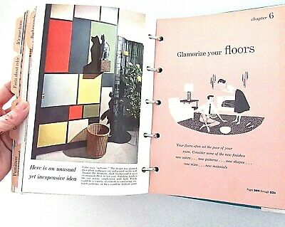 VTG 1956 Better Homes Gardens Decorating Book Mid Century Modern Design Decor (Best Modern Home Designs)