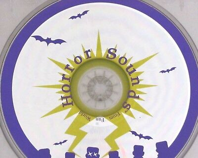 Halloween Horror Sounds From Fun World CD Scary Effects Howls Screams 55 Minutes - Halloween Horror Sounds Effects