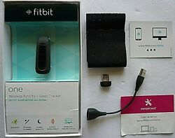 fitbit one FB103BK Black Wireless Activity + Sleep Tracker-Get Fit Sleep Better