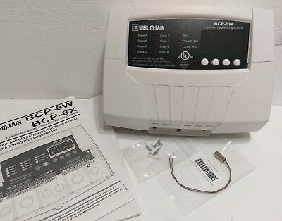 Boiler Control Panel - Mclain Boiler Control Panel BCP-8W Hydronic Sequence Ext Water 389900221 New