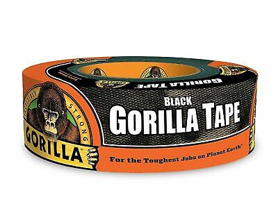 Gorilla Tape Black Duct Tape 1.88 X 35 Yd Weather Resistant
