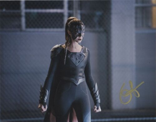 Odette Annable Supergirl Autographed Signed 8x10 Photo COA BA80