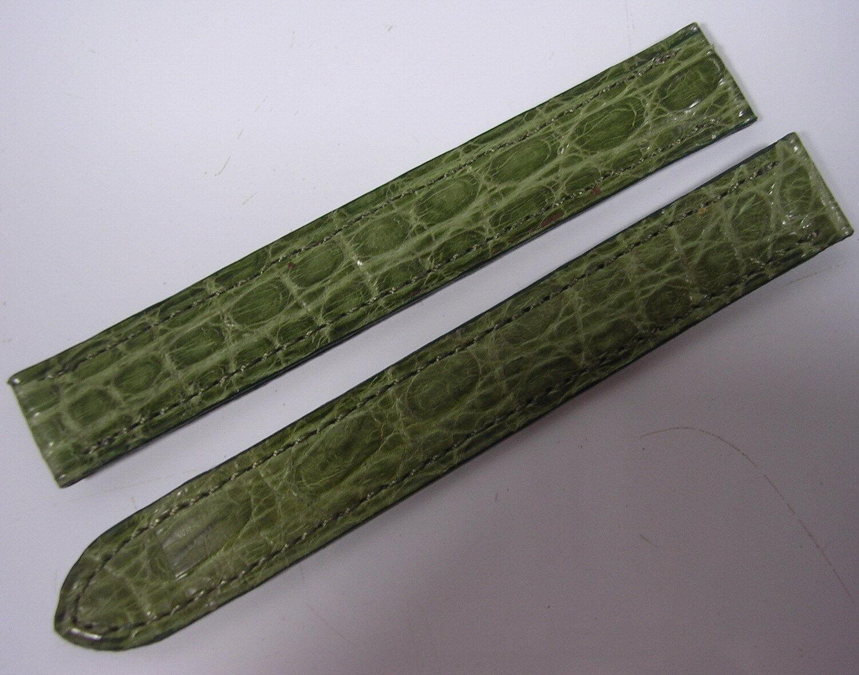 Bracelet cuir cartier boucle deployante pour montre 12 mm stock ancien