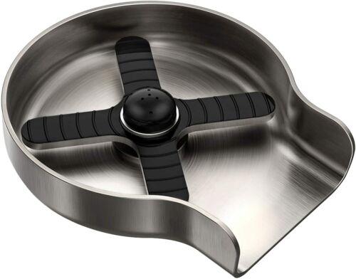 HGN Kitchen Sink Glass Rinser Kitchen Sink Accessories Brush Nickel Metal