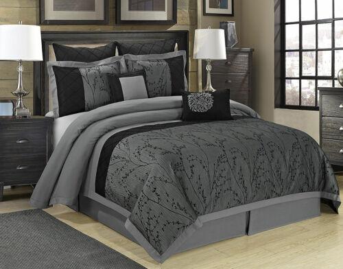 HIG 8 Piece  Jacquard Patchwork Comforter Set -Exquisite Fashion And Unique