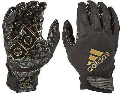 Adidas Freak 4.0 Adult Football Padded Receiver/Linebacker Gloves, - Padded Football Receiver Glove