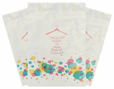 200 - 10x13 Bubbly Dress Shopping Poly Mailers Boutique Shipping Clothing Bag