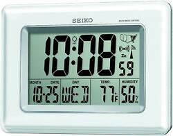 Seiko QHR020WLH Advanced Technology R-Wave Desk Clock