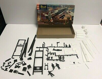original 1958 Revell S Box NIKE HERCULES Missile Model Kit H-1804:149
