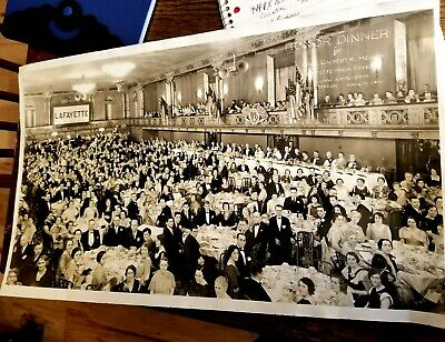VINTAGE 1934 HONOR DINNER 4 Calvert Mellen Lafayette ALUMNI GROUP PEOPLE PHOTO - 4 People Groups
