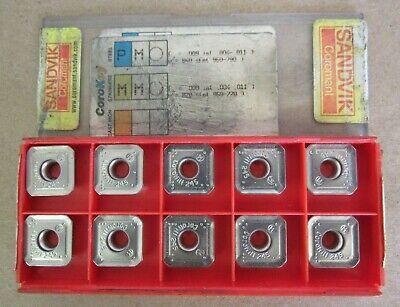 10 Pcs Sandvik Coromant Carbide Insert R245-12t3m-pm Grade 530