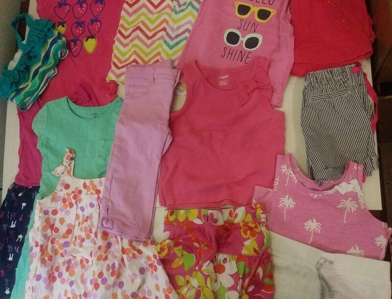 15 piece Lot size 5  Girls Summer Clothes Gymboree, Carter