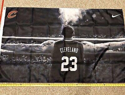 LeBron James Flag FREE SHIPPING Cleveland Cavaliers 3x5 Digital Print Banner (Digital Polyester Banner)