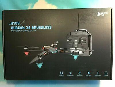 Hubsan X4 H109 Brushless Quadcopter Drone Large Flight Time H2000 Transmitter RTF