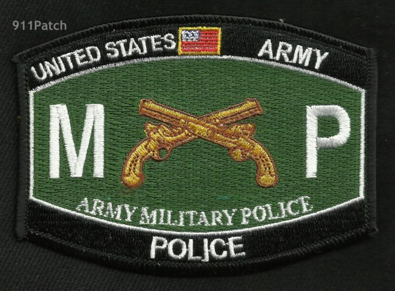 Army Military Police MP Cross Pistols United States ARMY MOS Patch