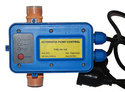 30 Amp Water Pump Reliable Pressure Control Switch For 2-3hp Pump 240 Volt