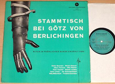 STAMMTISCH BEI GÖTZ VON BERLICHINGEN  (BERTELSMANN / COMEDY / LP vg++/m-)