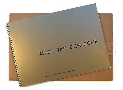 Mies van der Rohe DAWINGS IN THE COLLECTION OF THE MOMA 1969 bauhaus grossformat